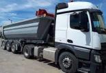 Transport routier de vrac solide, l'entreprise Vauquelin